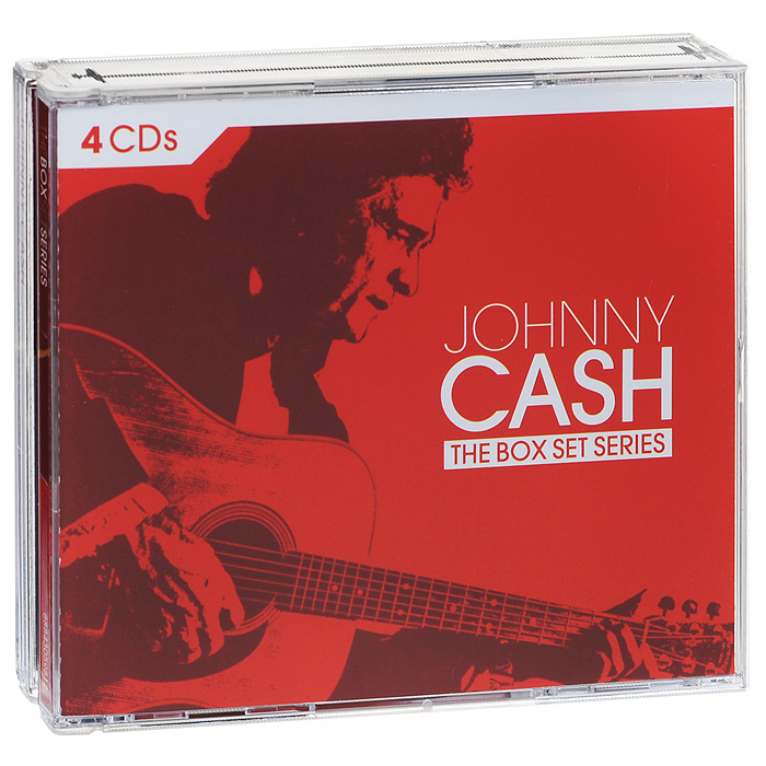 Джонни Кэш Johnny Cash. The Box Set Series (4 CD) wooden animal pattern hand cranked jewelry music box