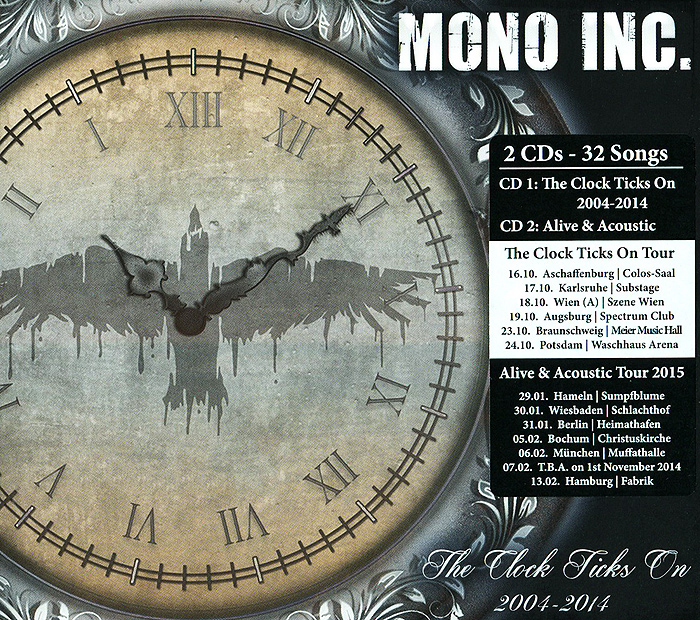 Mono Inc. Mono Inc. The Clock Ticks On (2 CD) heco inc 82