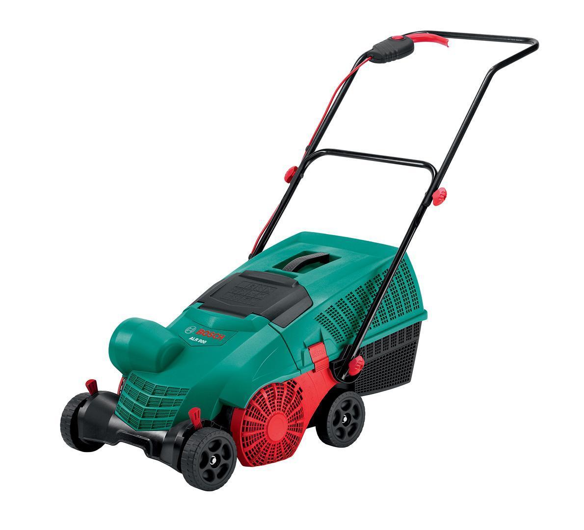 Скарификатор Bosch ALR 900 Raker служит для разрезания почвы с целью усиления притока воздуха в нее, а также очищения от листвы и мха.