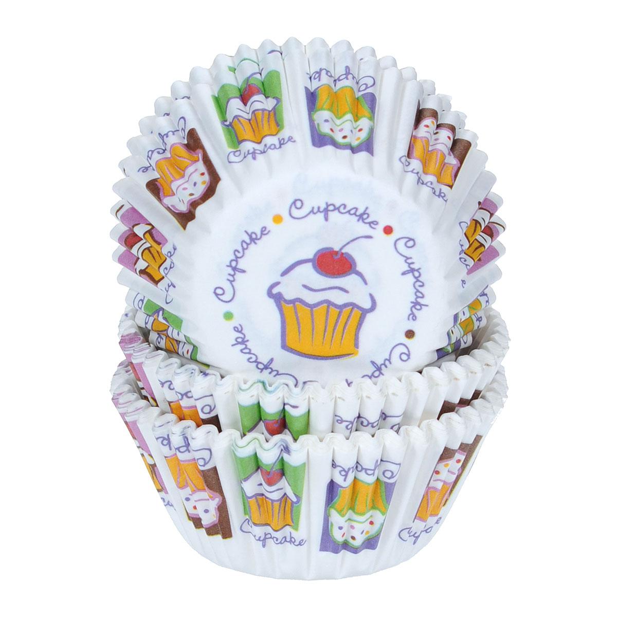 """Бумажные формы Wilton """"Кекс"""" используются для выпечки, украшения и упаковки кондитерских изделий, сервировки конфет, орешков, десертов. Края форм гофрированные. С такими формами вы всегда сможете порадовать своих близких оригинальной выпечкой."""