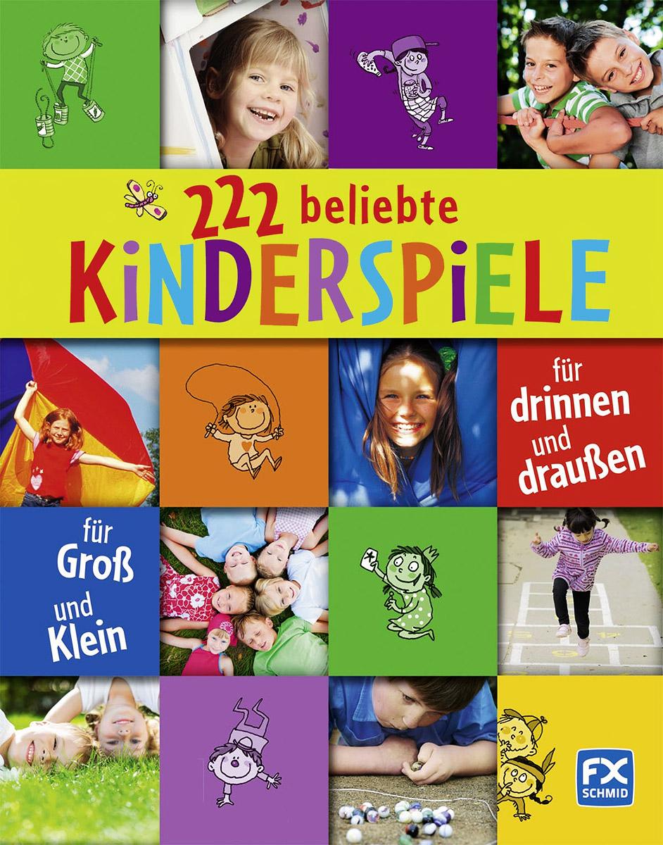222 beliebte Kinderspiele: Fur drinner und draussen: Fur Gross und Klein pk 222 trelock
