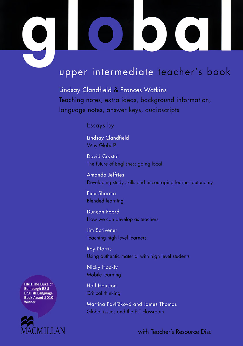 Global: Upper-Intermediate: Teacher's Book (+ CD-ROM) елена анатольевна васильева english verb tenses for lazybones