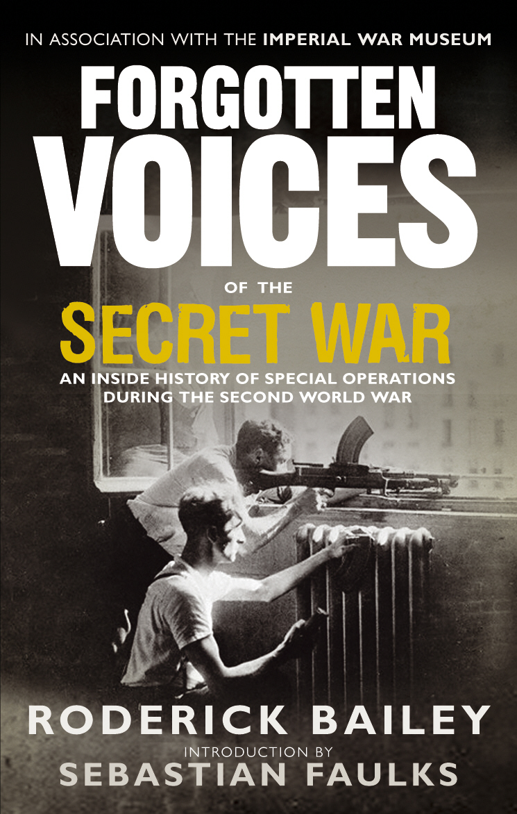 Forgotten Voices of the Secret War our voices