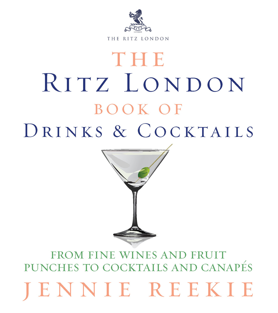 Ritz London Book of Drinks & Cocktails qed london qe001ewiwa35