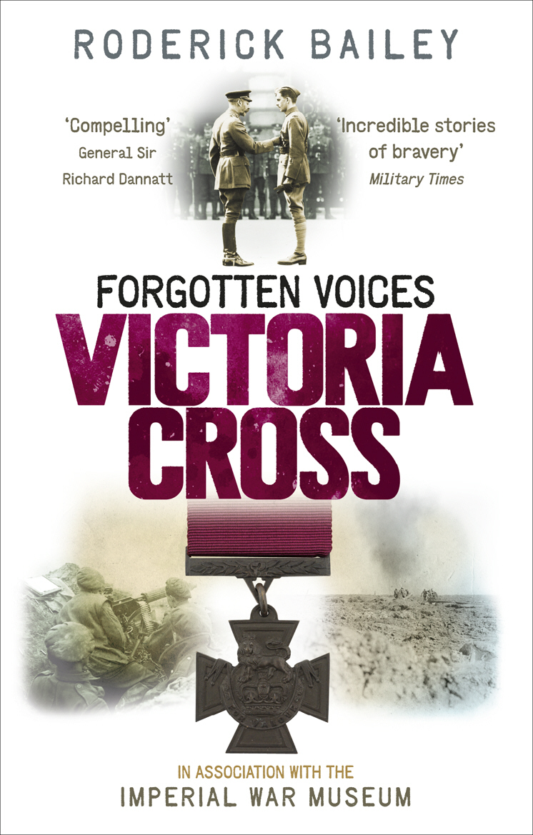 Forgotten Voices of the Victoria Cross irama nonantola