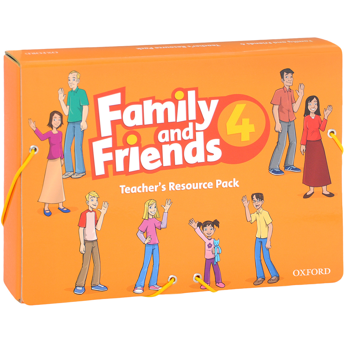Family and Friends 4: Teacher's Resource Pack (комплект из 2 книг, 5 плакатов + набор из 49 и 69 карточек) tilly and friends play all day sticker activity book