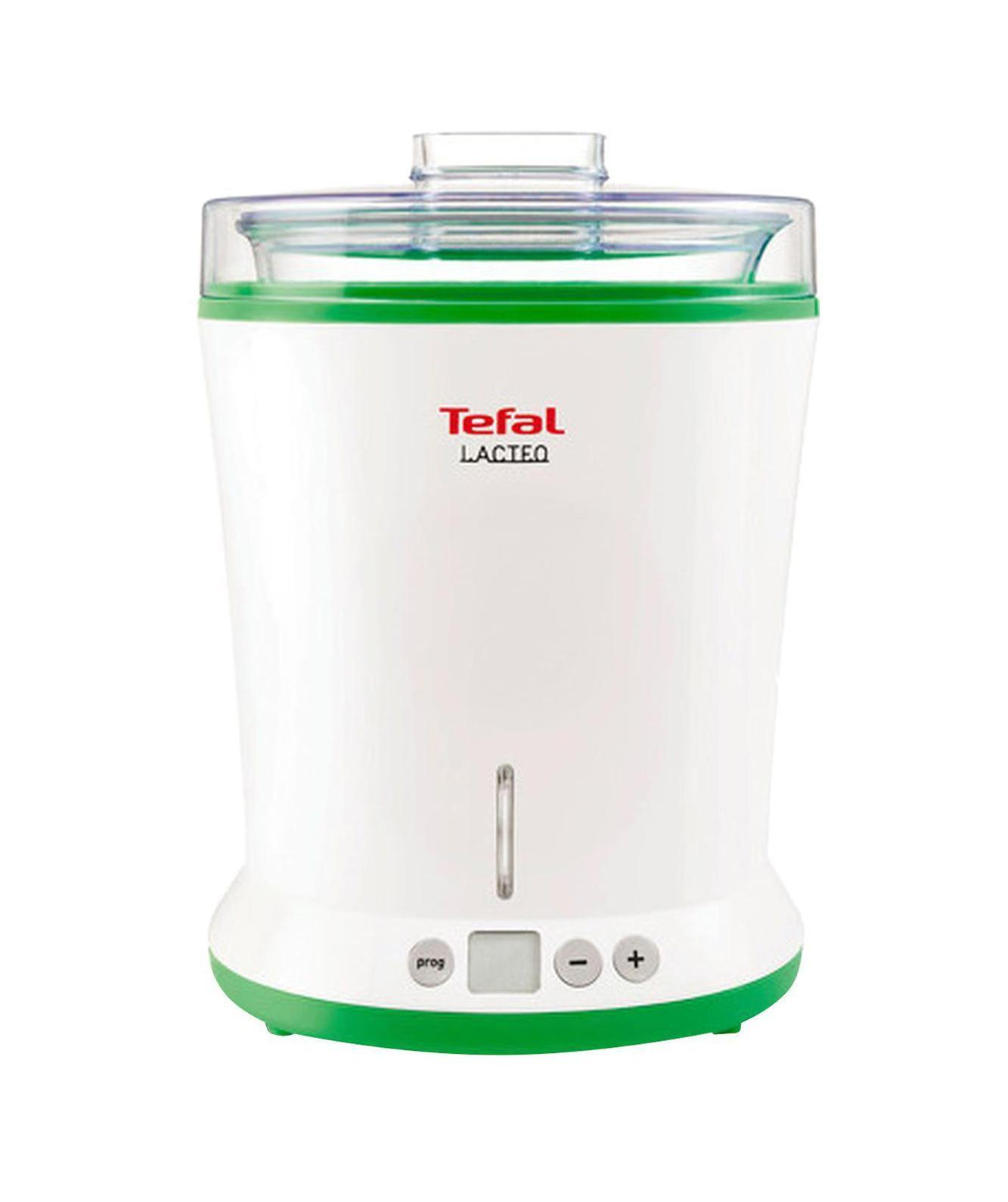 Tefal YG260132 йогуртницаYG260132 БелыйПользу свежего домашнего йогурта сложно переоценить. Подарите себе и близким здоровье: Lacteo от Tefal позаботится о том, чтобы на вашем столе всегда были полезные кисломолочные напитки!Готовить полезные продукты самой очень просто: смешайте молоко с закваской и оставьте их ферментироваться в Lacteo на 6-12 часов. Вы можете использовать в качестве основы натуральный йогурт или кефир либо специальную лиофилизированную закваску из любой аптеки. Следить за йогуртницей во время приготовления необязательно: когда программа завершится, прибор отключится автоматически.