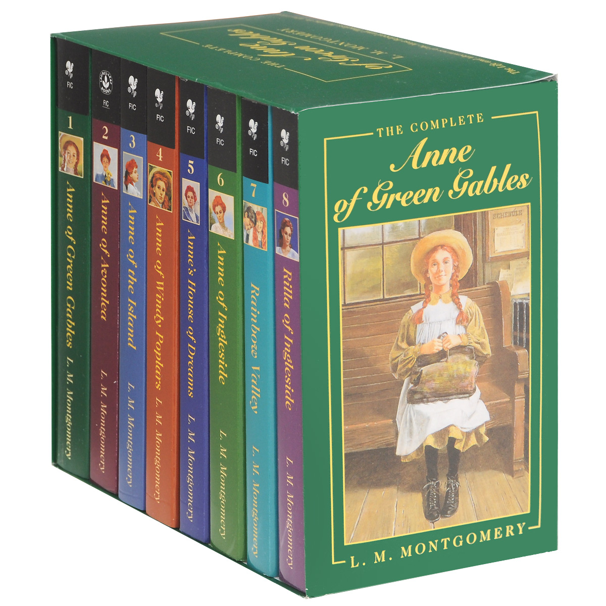 Anne of Green Gables (комплект из 8 книг) lucy maud montgomery anne of green gables