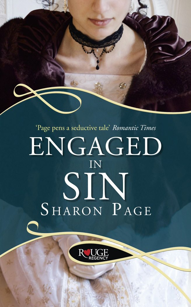 Engaged in Sin: A Rouge Regency Romance the society of sin