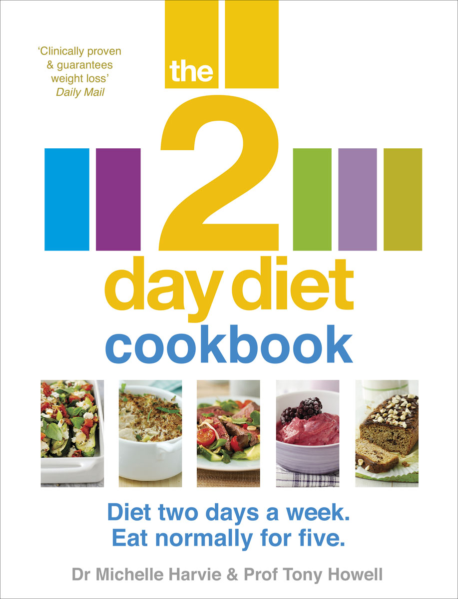 The 2-Day Diet Cookbook author name tbc the fasting day cookbook