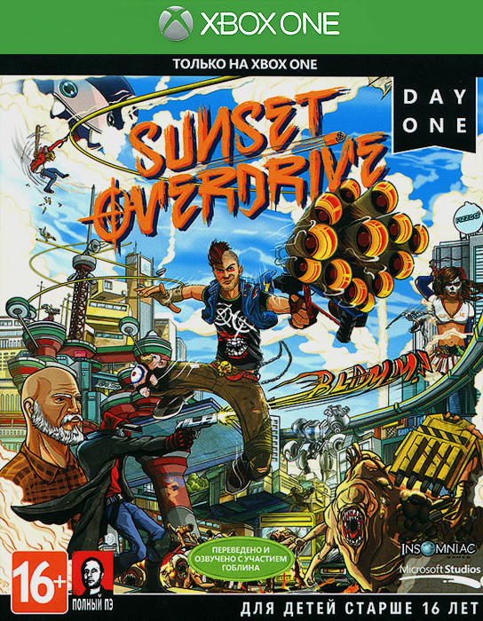 Sunset Overdrive. Day One Edition (Xbox One), Insomniac Games