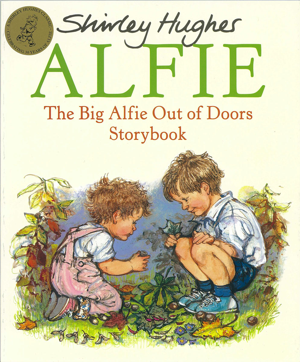 The Big Alfie Out Of Doors Storybook купить