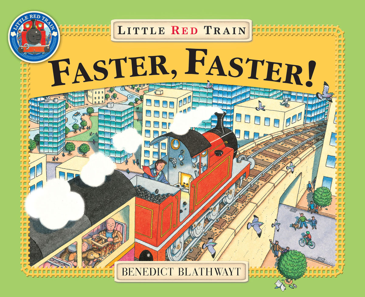 Little Red Train: Faster, Faster the great train robbery