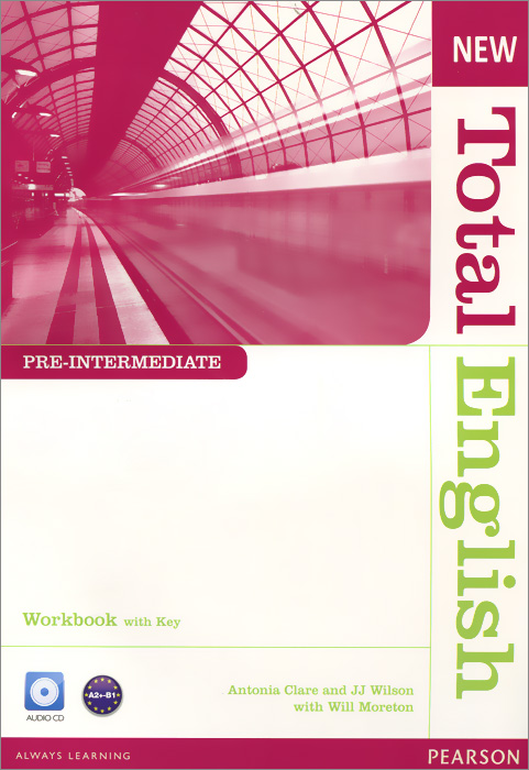 New Total English: Pre-Intermediate: Workbook with Key (+ CD) think british english workbook 2 with online practice