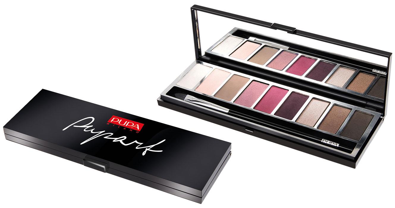 PUPA Набор теней для век Pupart. Eyeshadow Palette, тон №03 коричнево-розовый, 8 г040005003