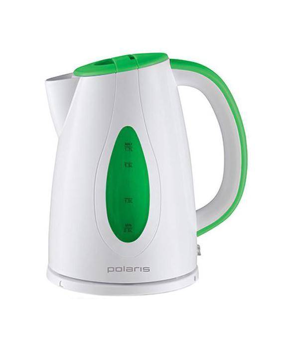 Polaris PWK 1752C электрический чайникPWK 1752CЭлектрический чайник Polaris PWK 1752C является прекрасным решением для тех, кто любит устраивать себе перерывы в работе на чашечку чая или кофе. Он прост в управлении и долговечен в использовании. Чайник автоматически выключается при закипании.