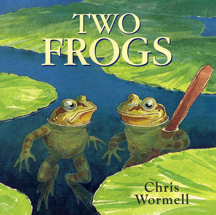 Two Frogs aristophanes the frogs