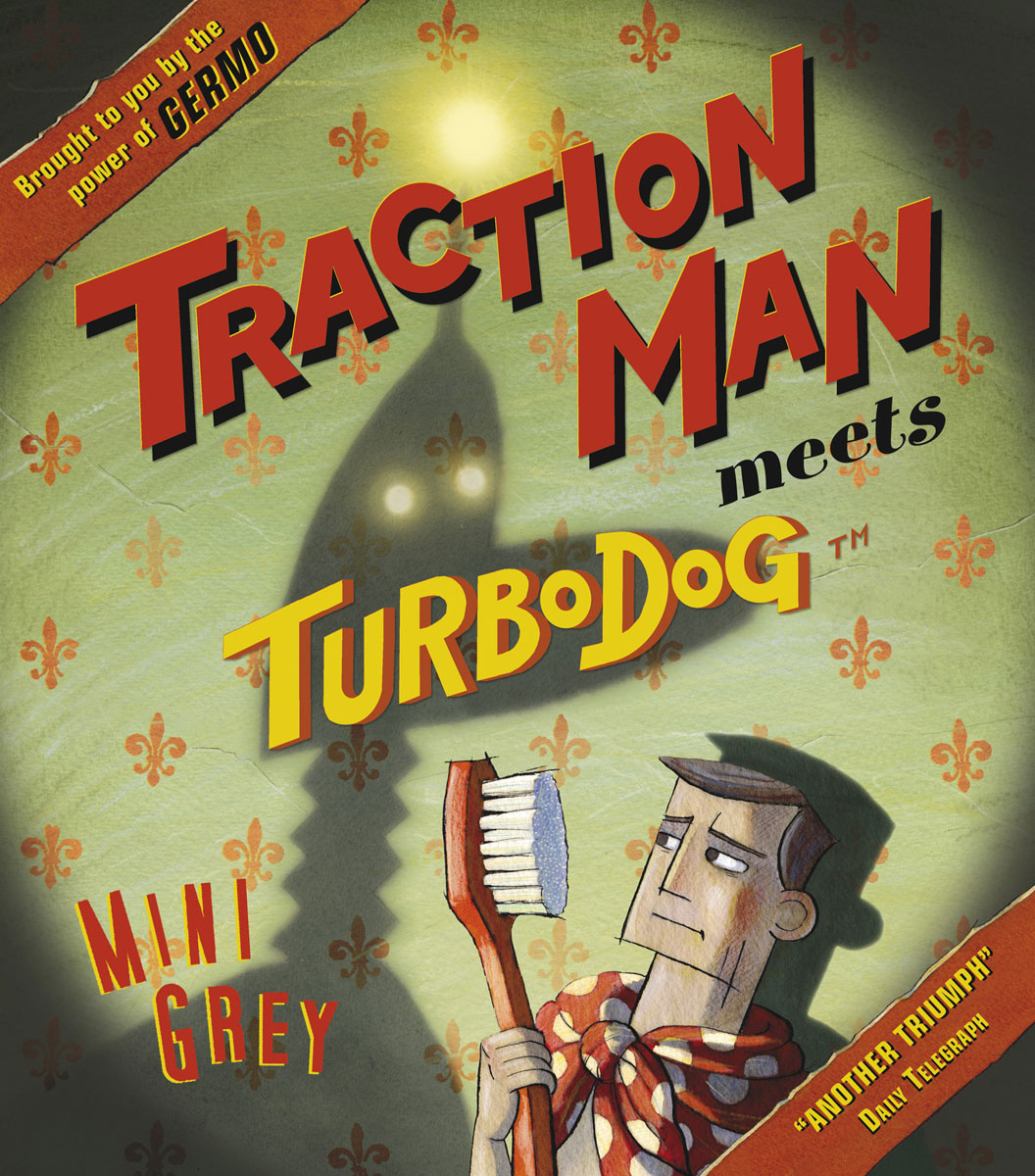 Traction Man Meets Turbodog beibehang can be scrubbing simple