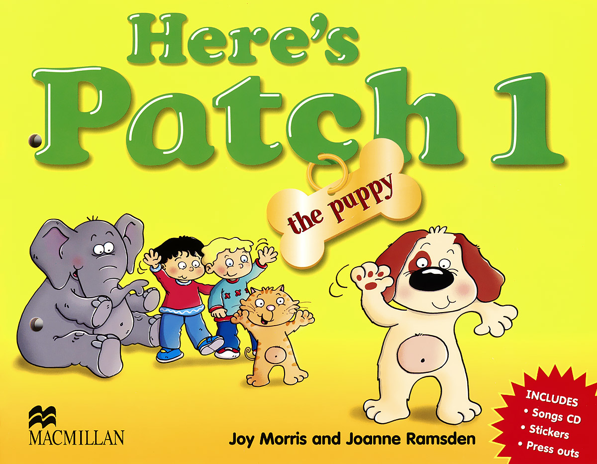 Here's Patch the Puppy: Level 1: Pupil's Book (+ CD) patch