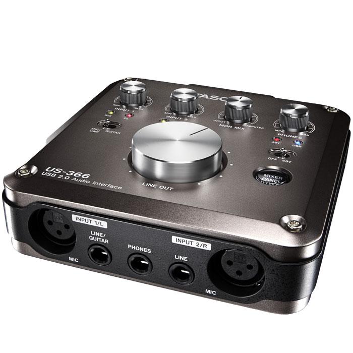 Tascam US-366 аудиоинтерфейс - Студийное оборудование