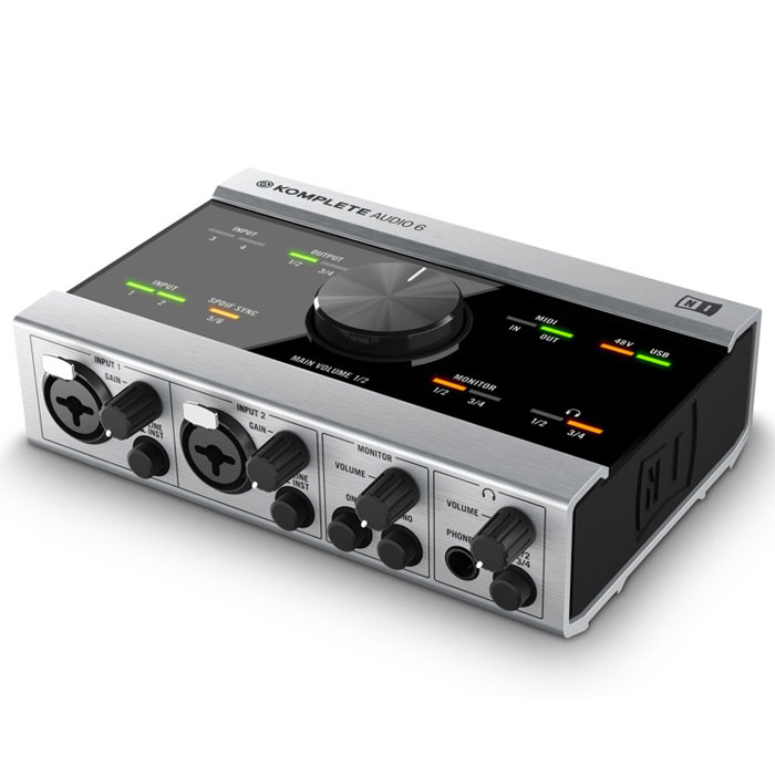 Native Instruments Komplete Audio 6 аудиоинтерфейс instruments traktor dj cable native instruments