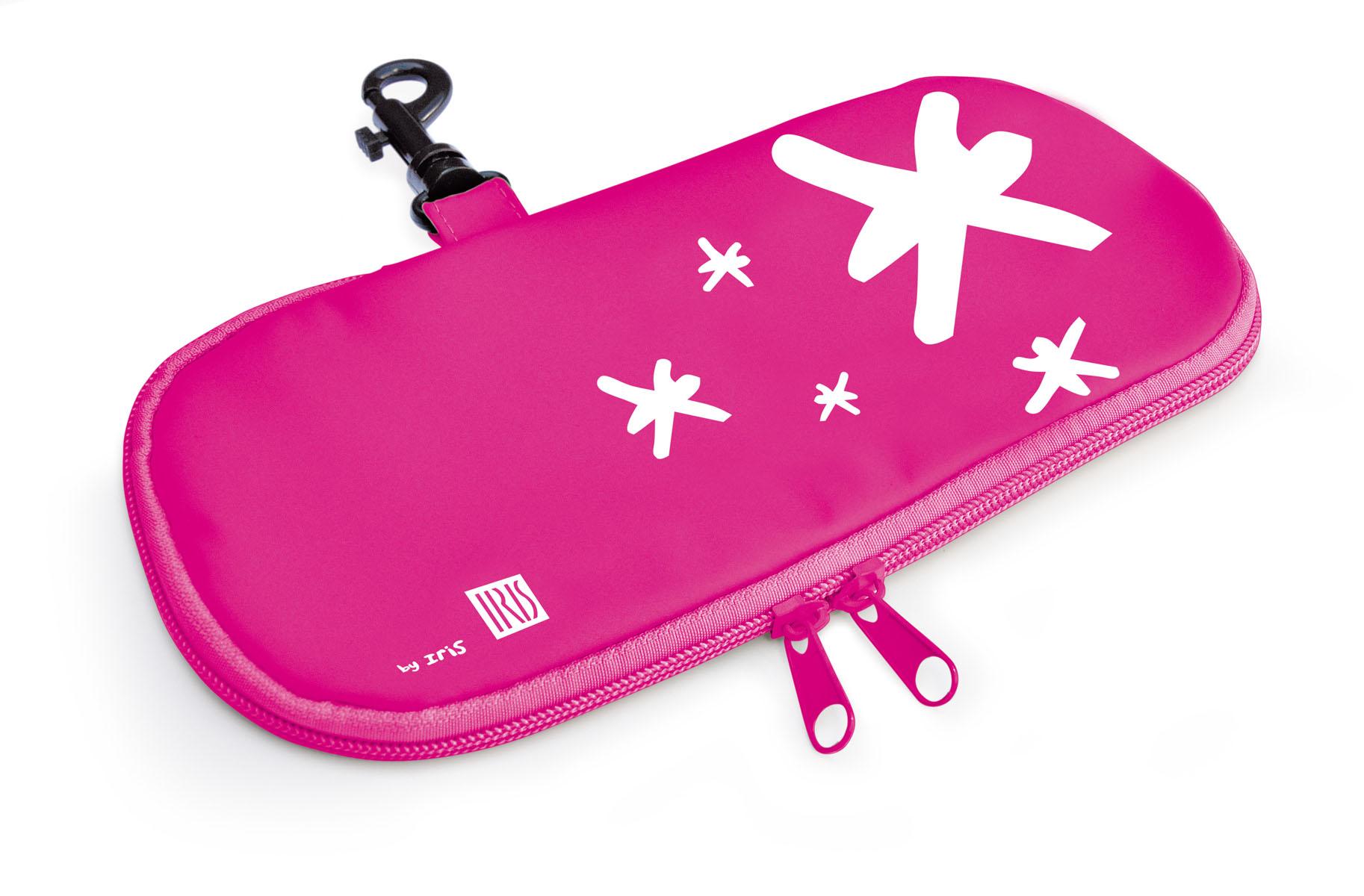 "Термобутербродница мягкая Iris Barcelona ""Kids"", цвет: розовый, 24 х 12 см"