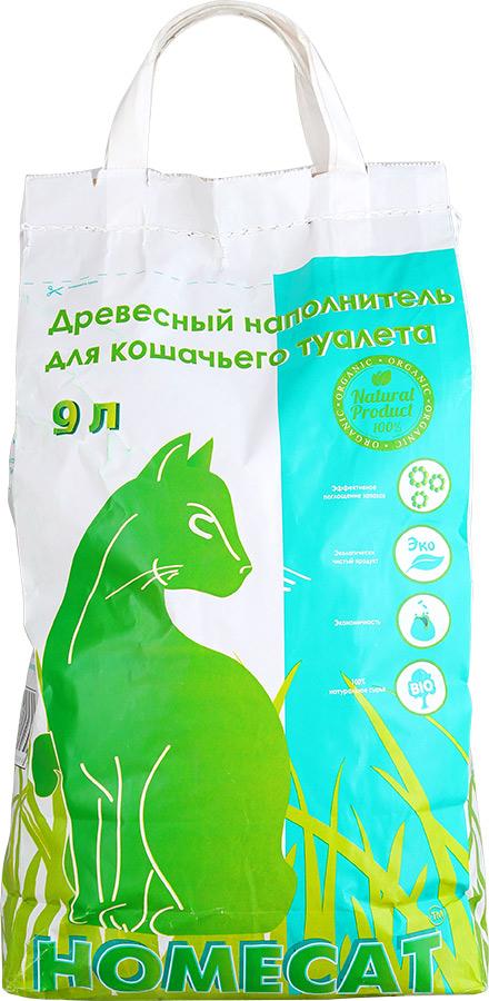 Наполнитель для кошачьего туалета Homecat, древесный, 9 л54273Наполнитель для кошачьего туалета Homecat изготовлен из 100% древесины хвойных пород. Натуральный древесный наполнитель не содержит вредных химических ароматизаторов, красителей, канцерогенов и аллергенов, как для людей, так и для кошек и других домашних животных. Состав: древесина хвойных пород. Диаметр гранулы: 6 мм. Влажность: менее 8%.