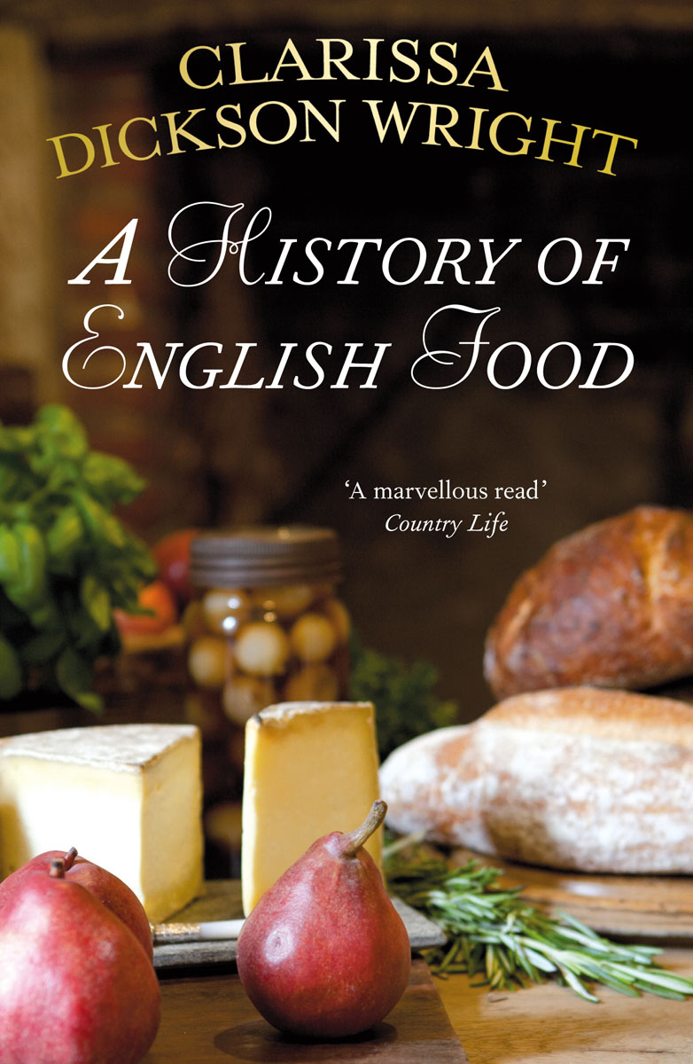 A History of English Food samuel richardson clarissa or the history of a young lady vol 7