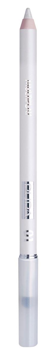 PUPA Карандаш для век с аппликатором Multiplay Eye Pencil, тон 01 белоснежный , 1.2 г244001Pupa Multiplay - карандаш для глаз 3 в 1. Сочетает в себе эффект карандаша для глаз для интенсивного цвета, эффект подводки и эффект теней для век. В состав карандаша входит масло жожоба, витамин Е и масло семени хлопчатника для защитного и успокоительного эффекта. Исключительная кремообразная текстура и латексный аппликатор обеспечивают легкое и безупречное нанесение. Характеристики:Вес: 1,2 г. Тон: №01. Производитель: Италия. Товар сертифицирован. Pupa - итальянский бренд, принадлежащий компании Micys. Компания была основана в 1970-х годах в Милане и стала любимым детищем семьи Гатти. Pupa - это декоративная косметика для тех, кто готов экспериментировать, создавать новые образы и менять свой стиль в поисках новых проявлений своей индивидуальности. Яркие цвета Pupa воплощают в себе особенное видение красоты как многогранного сочетания чувственности и эпатажа, нежности и дерзости, изысканности и простоты. Pupa не забывает и о здоровье, прежде всего - здоровье кожи. Составы косметики Pupa тщательно тестируются на безопасность для кожи и постоянно совершенствуются по мере появления новых научных разработок.