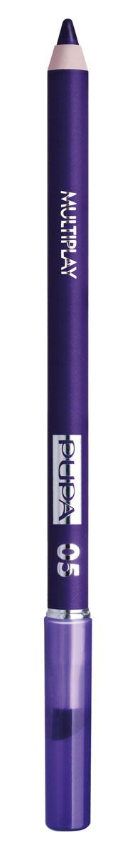 PUPA Карандаш для век с аппликатором Multiplay Eye Pencil, тон 05 насыщенный фиолетовый , 1.2 г111803Pupa Multiplay - карандаш для глаз 3 в 1. Сочетает в себе эффект карандаша для глаз для интенсивного цвета, эффект подводки и эффект теней для век. В состав карандаша входит масло жожоба, витамин Е и масло семени хлопчатника для защитного и успокоительного эффекта.Исключительная кремообразная текстура и латексный аппликатор обеспечивают легкое и безупречное нанесение. Характеристики:Вес: 1,2 г. Тон: №05. Производитель: Италия. Товар сертифицирован. Pupa - итальянский бренд, принадлежащий компании Micys. Компания была основана в 1970-х годах в Милане и стала любимым детищем семьи Гатти.Pupa - это декоративная косметика для тех, кто готов экспериментировать, создавать новые образы и менять свой стиль в поисках новых проявлений своей индивидуальности. Яркие цвета Pupa воплощают в себе особенное видение красоты как многогранного сочетания чувственности и эпатажа, нежности и дерзости, изысканности и простоты.Pupa не забывает и о здоровье, прежде всего - здоровье кожи. Составы косметики Pupa тщательно тестируются на безопасность для кожи и постоянно совершенствуются по мере появления новых научных разработок.