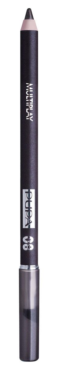 PUPA Карандаш для век с аппликатором Multiplay Eye Pencil, тон 08 светлый коричневый , 1.2 г244008Pupa Multiplay - карандаш для глаз 3 в 1. Сочетает в себе эффект карандаша для глаз для интенсивного цвета, эффект подводки и эффект теней для век. В состав карандаша входит масло жожоба, витамин Е и масло семени хлопчатника для защитного и успокоительного эффекта.Исключительная кремообразная текстура и латексный аппликатор обеспечивают легкое и безупречное нанесение. Характеристики:Вес: 1,2 г. Тон: №08. Производитель: Италия. Артикул: 244008. Товар сертифицирован. Pupa - итальянский бренд, принадлежащий компании Micys. Компания была основана в 1970-х годах в Милане и стала любимым детищем семьи Гатти.Pupa - это декоративная косметика для тех, кто готов экспериментировать, создавать новые образы и менять свой стиль в поисках новых проявлений своей индивидуальности. Яркие цвета Pupa воплощают в себе особенное видение красоты как многогранного сочетания чувственности и эпатажа, нежности и дерзости, изысканности и простоты.Pupa не забывает и о здоровье, прежде всего - здоровье кожи. Составы косметики Pupa тщательно тестируются на безопасность для кожи и постоянно совершенствуются по мере появления новых научных разработок.