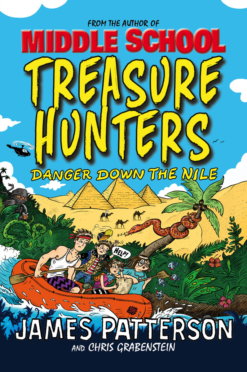 Treasure Hunters: Danger Down the Nile reilly m the four legendary kingdoms
