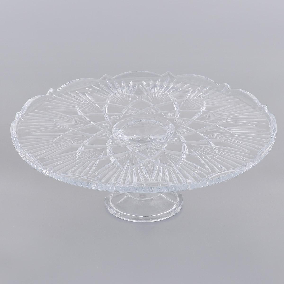 Тортовница Crystalite Bohemia Лира, диаметр 30,5 см69003/0/99002/310Тортовница Crystalite Bohemia Лира изготовлена из прочного утолщенного стекла кристалайт. Тортовниуа имеет круглую форму и оформлена рельефом, что делает его изящным украшением праздничного стола. Изделие красиво переливается и излучает приятный блеск. Прекрасно подходит для подачи тортов и пирогов.Тортовница Crystalite Bohemia Лира - это изысканное украшение праздничного стола, которое удивит вас и ваших гостей оригинальным дизайном и практичностью. Можно мыть в посудомоечной машине.