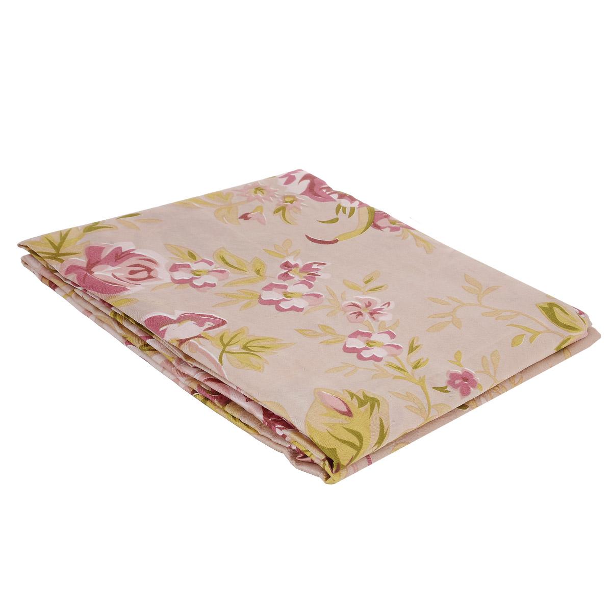 Комплект штор Ноты счастья, на петлях, цвет: розовый, зеленый, высота 220 смШпнс-140-220-2Роскошный комплект штор Ноты счастья, выполненный из текстиля, великолепно украсит любое окно. Комплект состоит из двух штор. Шторы выполнены из непрозрачной ткани средней плотности и декорированы изящным цветочным рисунком.Оригинальный дизайн и нежная цветовая гамма привлекут к себе внимание и органично впишутся в интерьер комнаты. Все предметы комплекта - на петлях.