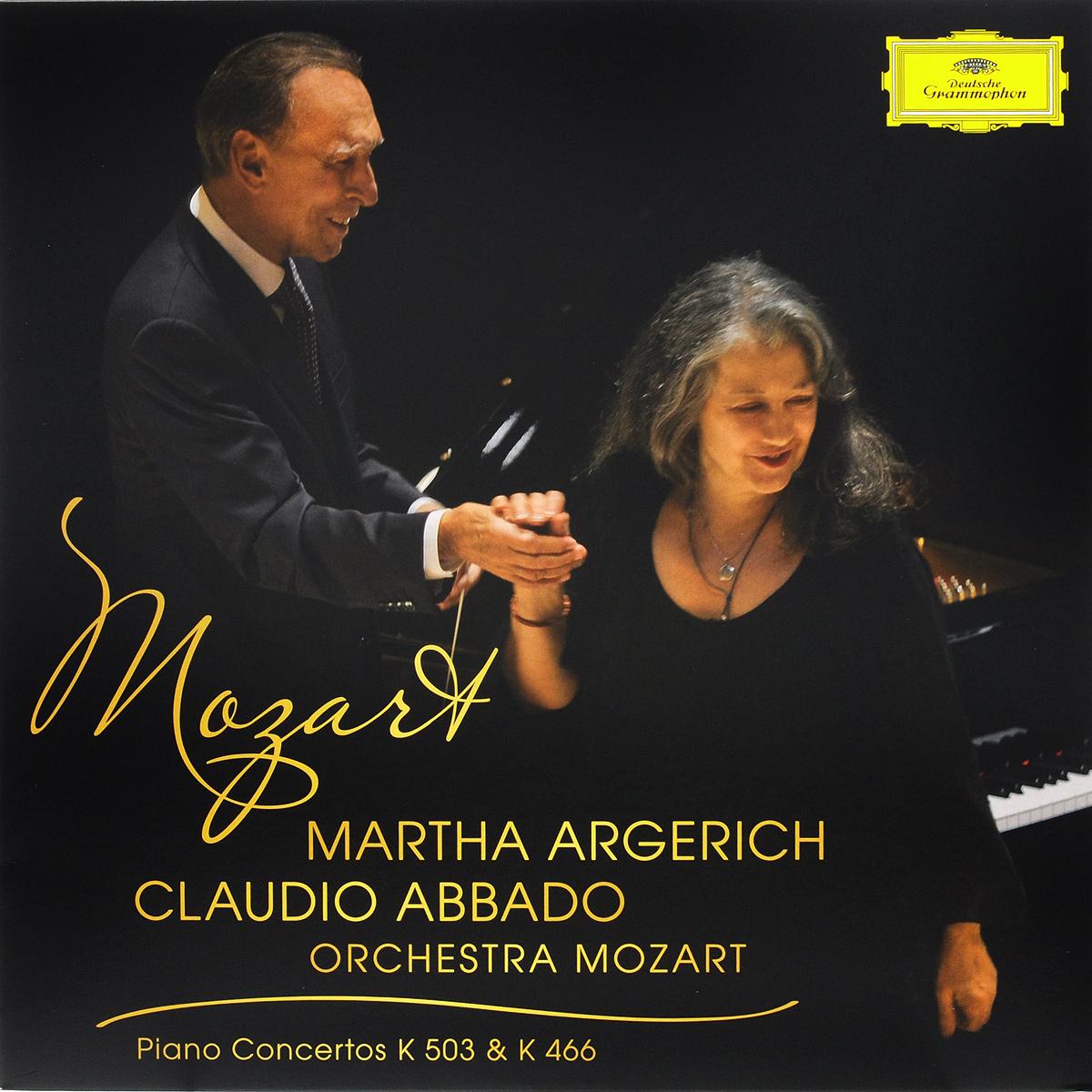 Клаудио Аббадо,Orchestra Mozart,Марта Аргерих Mozart. Piano Concertos K 503 & K 446. Martha Argerich / Orchestra Mozart / Claudio Abbado (LP)