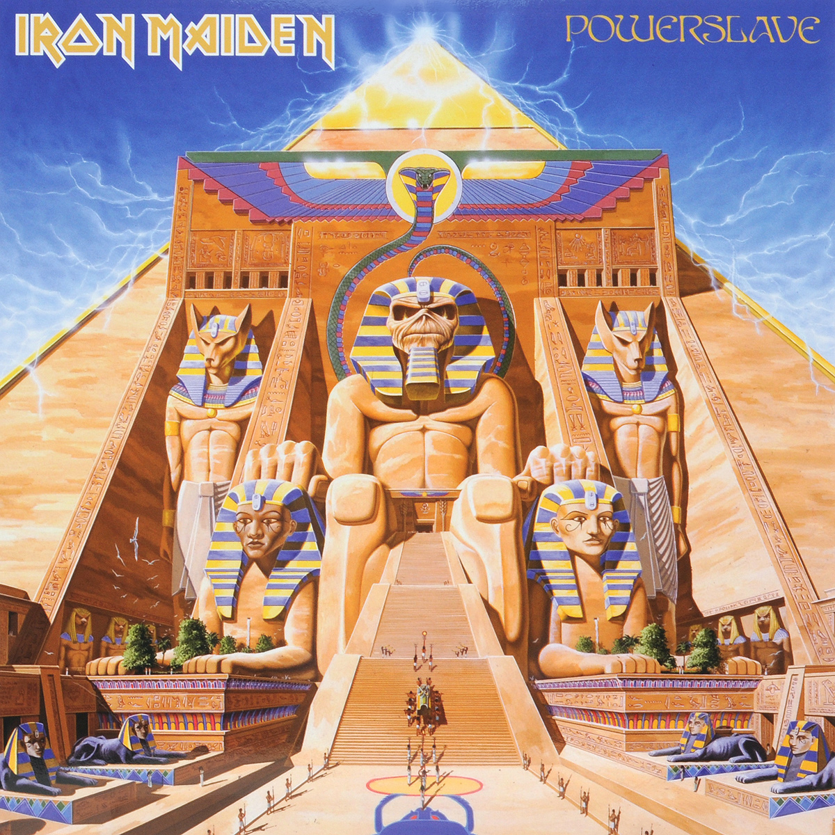 Iron Maiden Iron Maiden. Powerslave (LP) cd iron maiden a matter of life and death