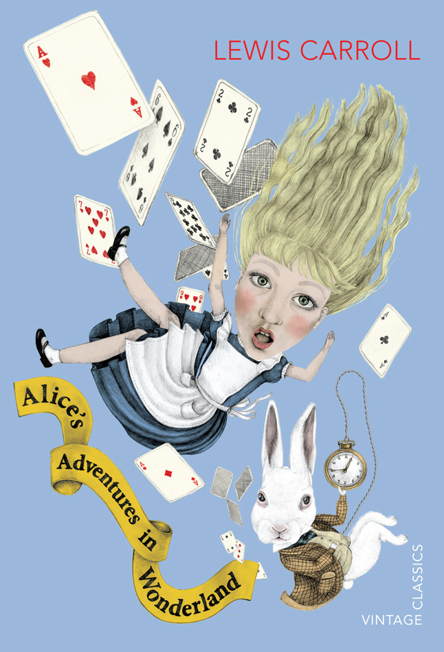 Alice's Adventures in Wonderland down the rabbit hole