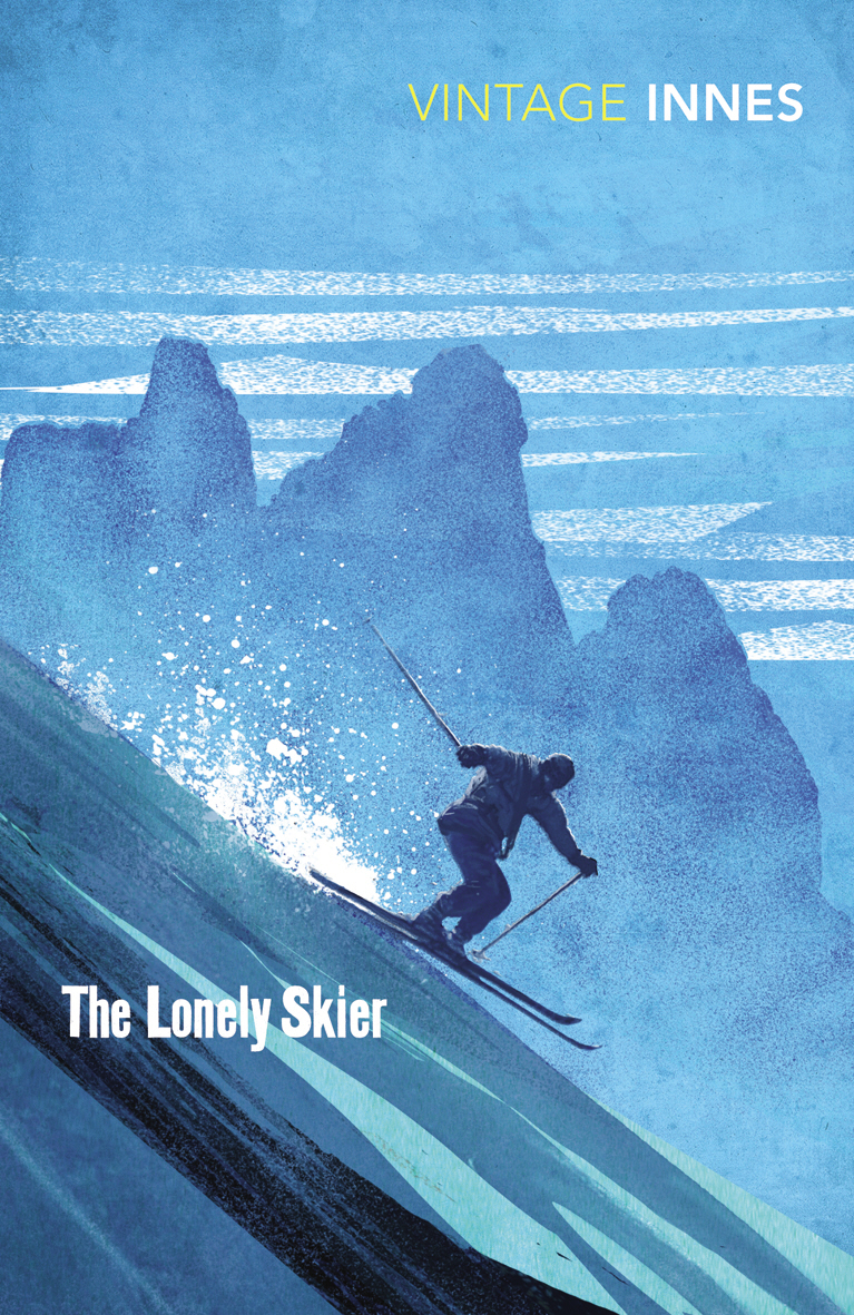 The Lonely Skier the lonely skier