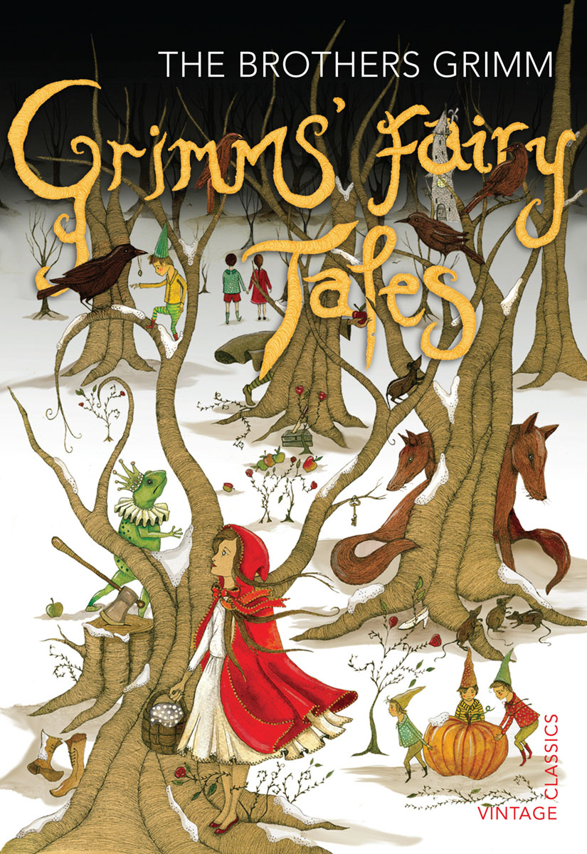 Grimms' Fairy Tales bigger than a bread box