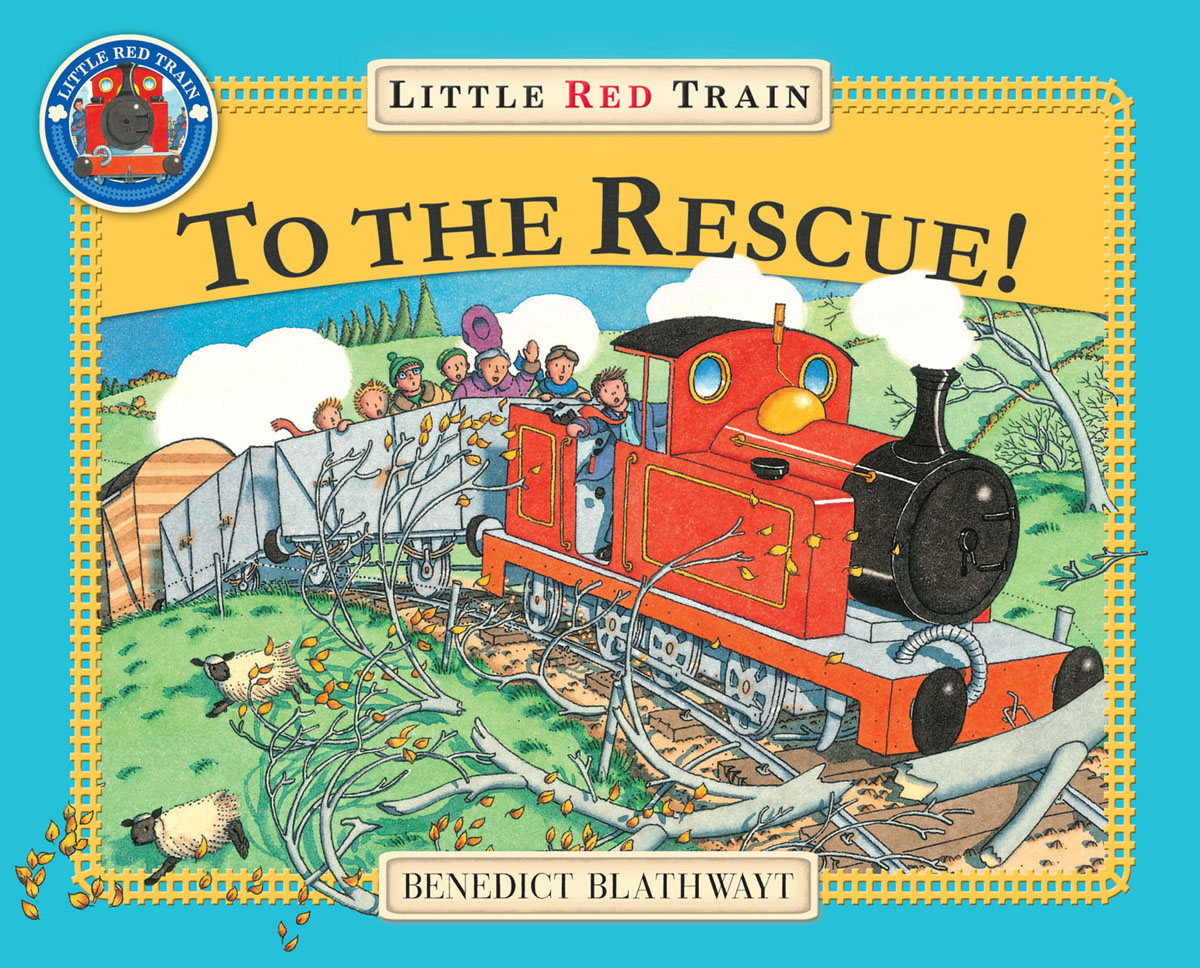 The Little Red Train: To The Rescue складной нож t f rescue red