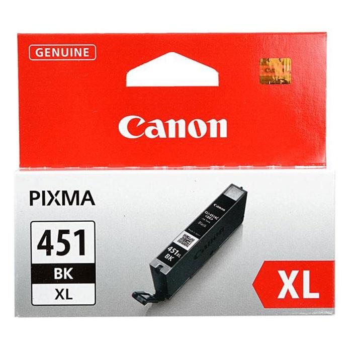 Canon CLI-451 BK XL картридж для струйных принтеров картридж canon kp 108in 3115b001