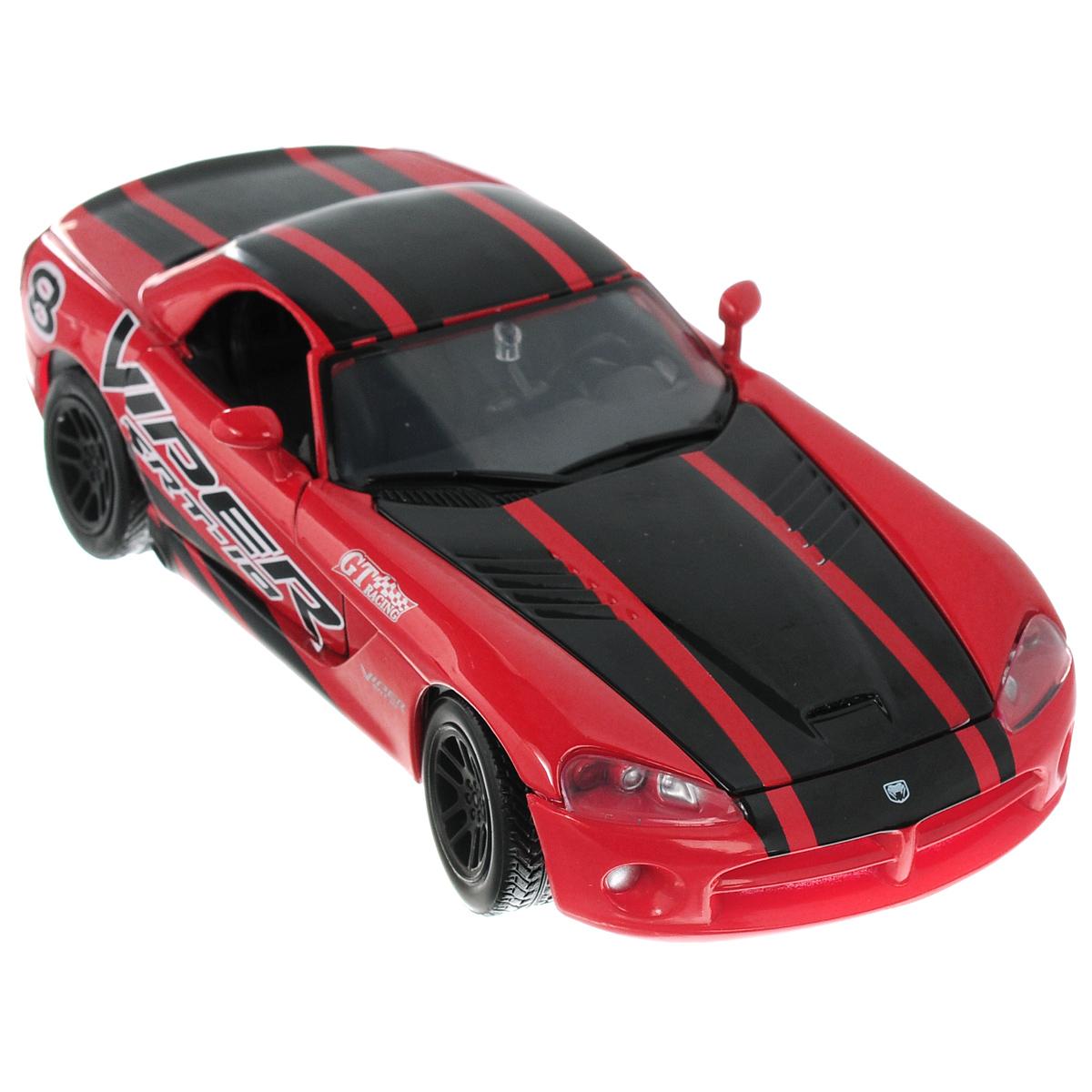 MotorMax Модель автомобиля Dodge Viper SRT-10 модель автомобиля 1 24 motormax dodge viper srt10 racing 2003