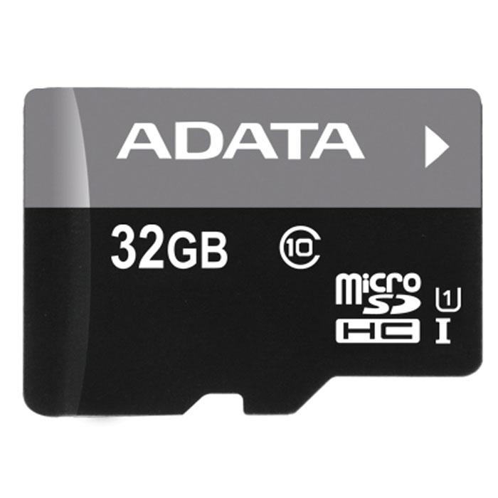 ADATA Premier microSDHC 32GB Class 10 UHS-I карта памятиAUSDH32GUICL10-RКарта памяти ADATA Premier microSDHC Class 10 UHS-I отвечает новейшей спецификации SDA 3.0 и стандарту UHS-I (сверхвысокая скорость 1, класс скорости 10 по SD 2.0). В карте памяти реализована технология кода с исправлением ошибок (Error-Correction Code, ECC); кроме того, она чрезвычайно устойчива к низким температурам и рентгеновскому излучению, что делает ее одной из самых стойких карт памяти в мире.