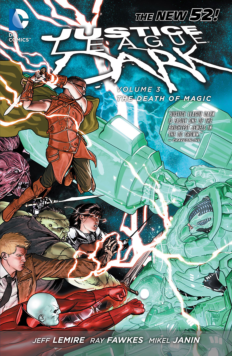 Justice League Dark Volume 3: The Death of Magic