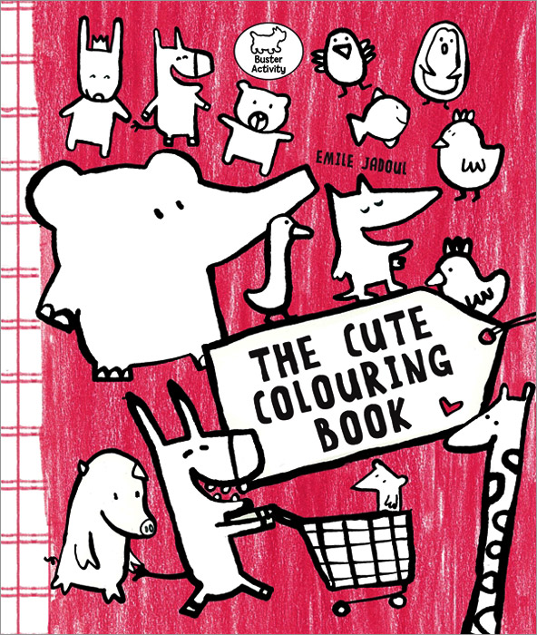 The Cute Colouring Book santa first colouring book with stickers