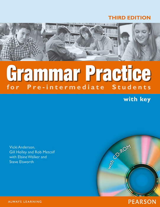 Grammar Practice for Pre-Intermediate Students: With Key (+ CD-ROM)