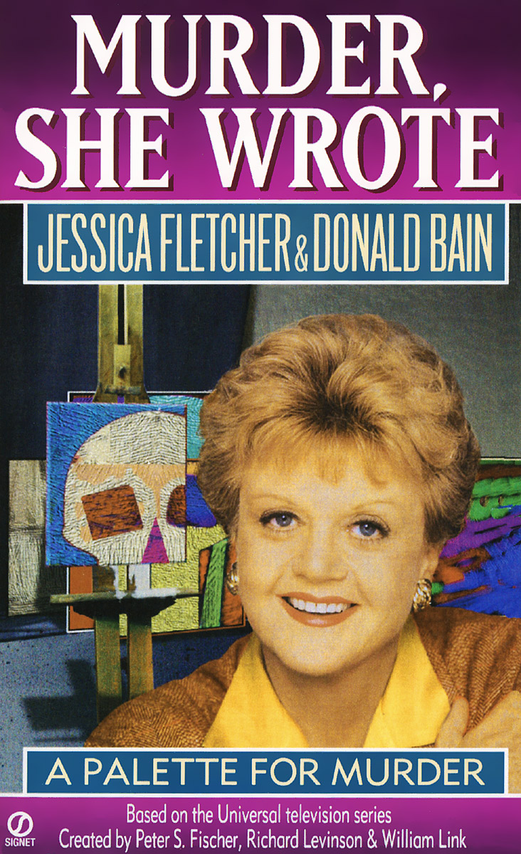 Murder, She Wrote: A Palette for Murder on murder considered as one of the fine arts