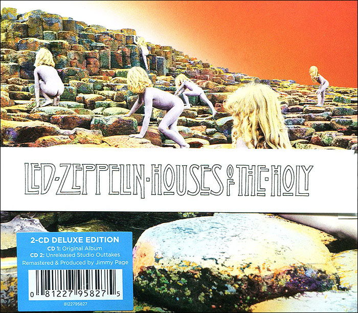 Led Zeppelin Led Zeppelin. Houses of the Holy. Deluxe Edition (2 CD) cd led zeppelin the complete bbc sessions deluxe