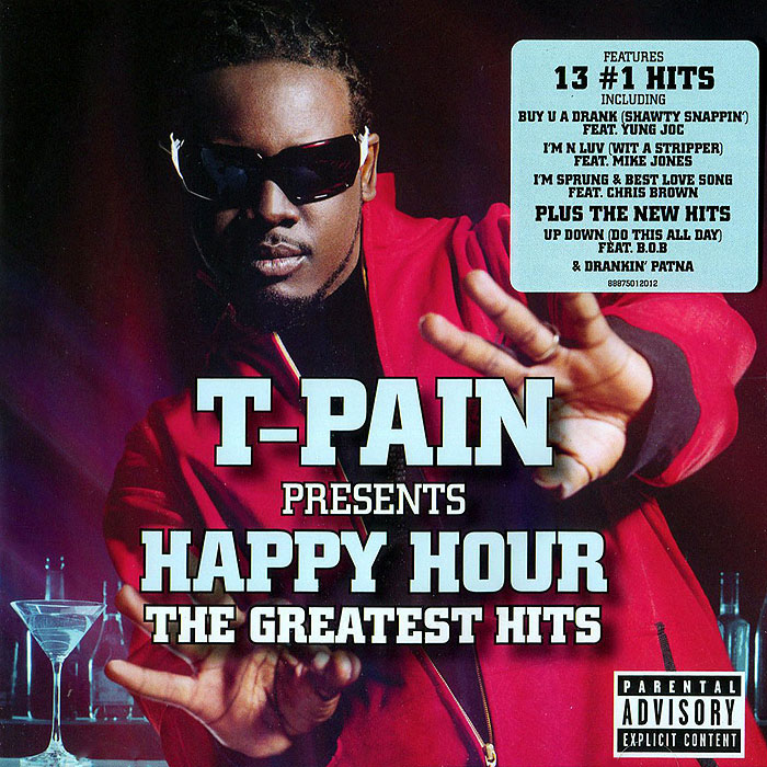 T-Pain,Happy Hour T-pain Presents Happy Hour. The Greatest Hits circa толстовка circa originals blue