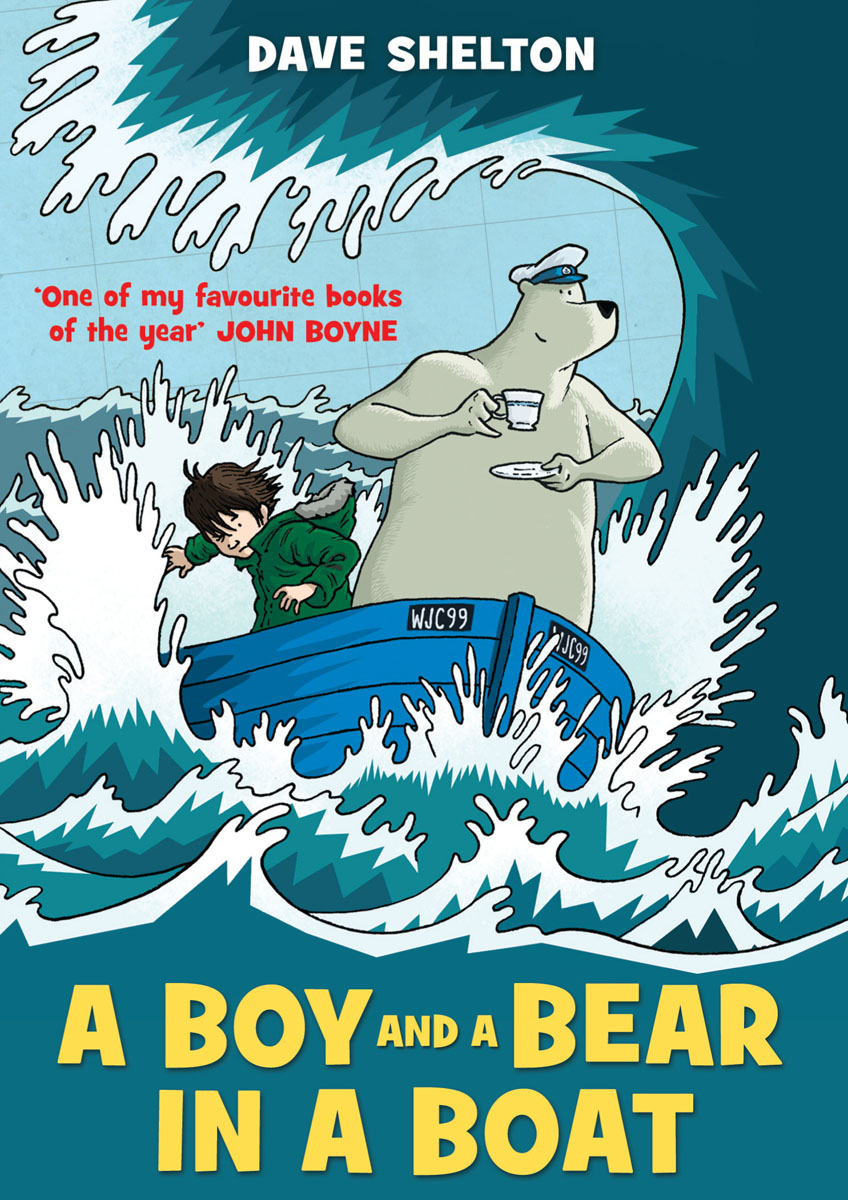 A Boy and a Bear in Boat